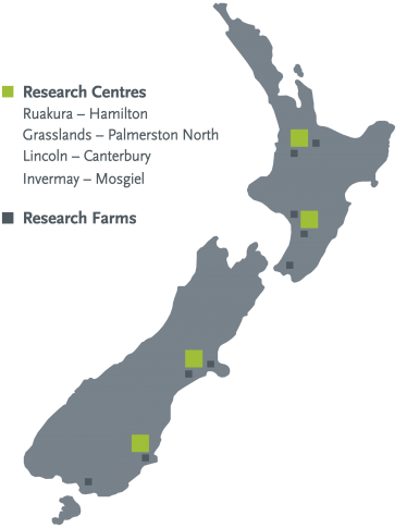 Our Locations AgResearch